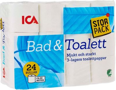 Bad- & Toalettpapper