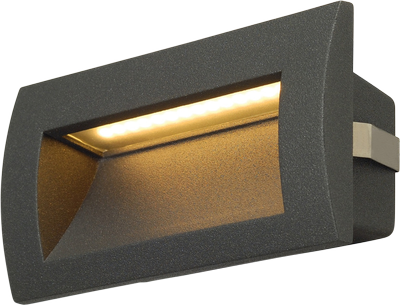 SLV Downunder Out Led M 3000K IP55 Antrasitt