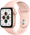 Apple Watch SE 40mm GPS (gold alu/pink sand sportsrem)