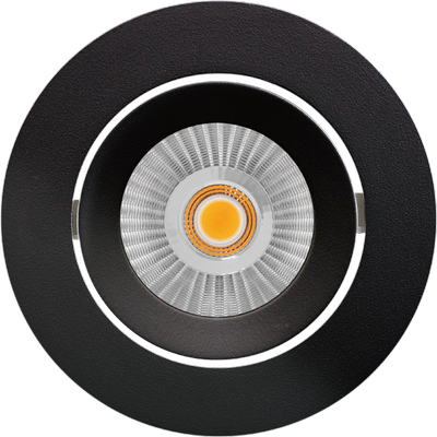 Alfa reflektor Downlight 10W matt sort
