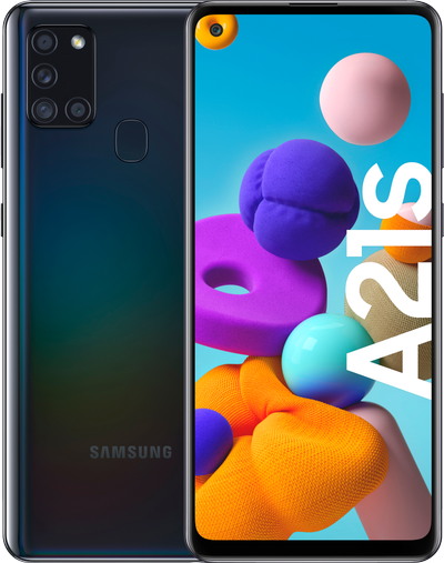 Samsung Galaxy A21s smartphone 3/32GB (sort)