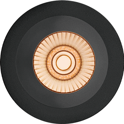 Alfa reflektor Soft Downlight Warmdim 10W matt sort