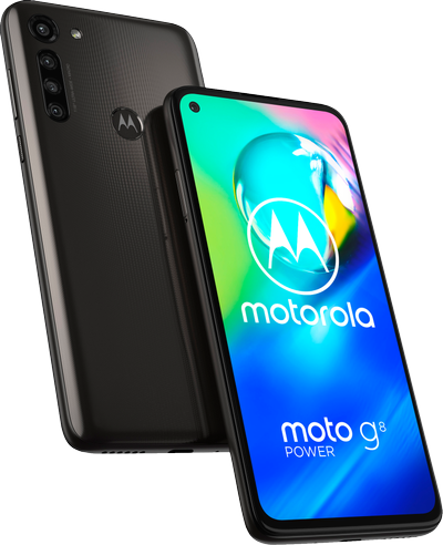 Motorola Moto G8 Power smartphone 4/64GB (Smoke Black)