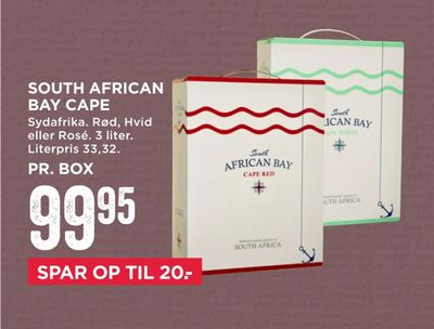 South african bay cape