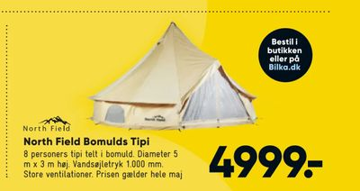 North Field Bomulds Tipi