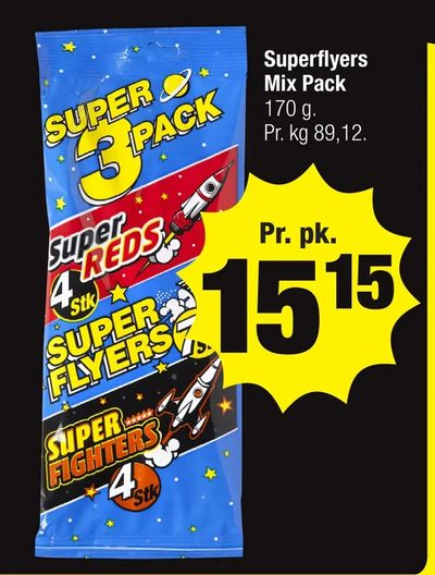 Superflyers Mix Pack