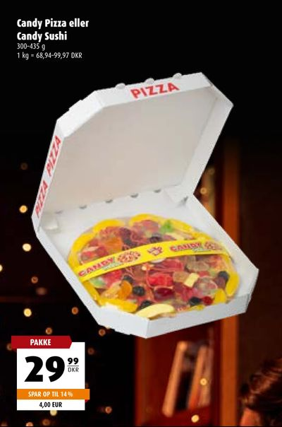 Candy Pizza eller Candy Sushi