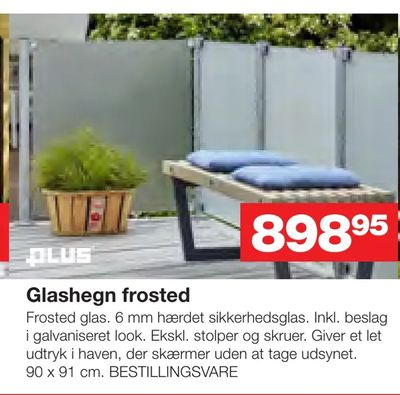 Glashegn frosted