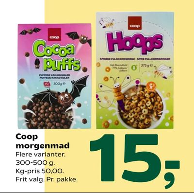 Coop morgenmad
