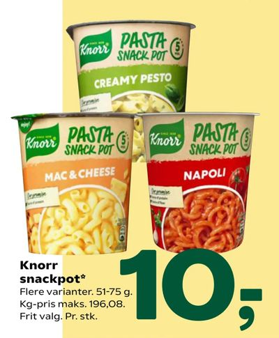 Knorr snackpot