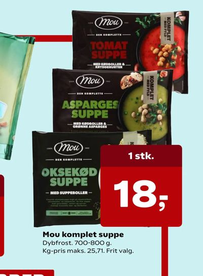 Mou komplet suppe