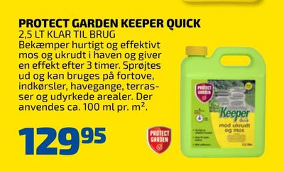 Protect garden keeper quick
