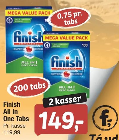 Finish All In One Tabs