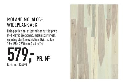 Moland molaloc+ wideplank ask