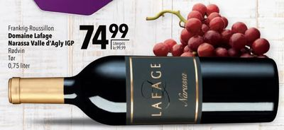 Domaine Lafage Narassa Valle d'Agly IGP