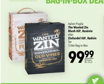 The Wanted Zin Blush IGP, Rosévin