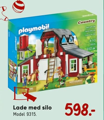 Lade med silo