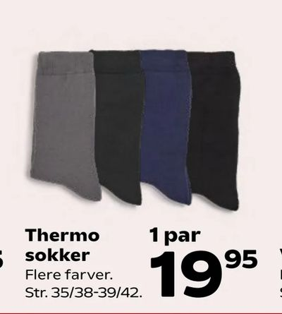 Thermo sokker