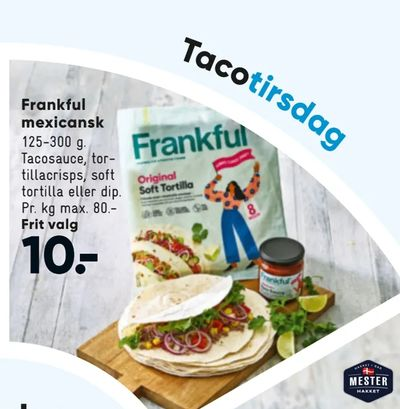 Frankful mexicansk