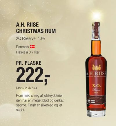 A.h. riise christmas rum