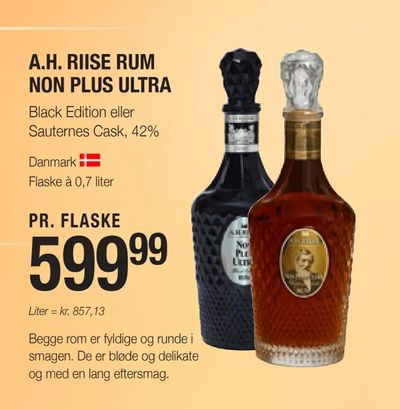 A.h. riise rum non plus ultra