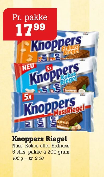 Knoppers Riegel