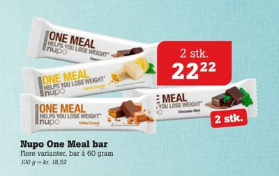 Nupo One Meal bar