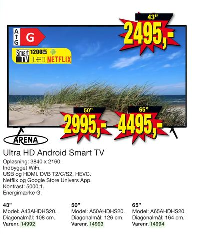 Ultra HD Android Smart TV