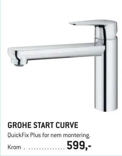 Grohe start curve