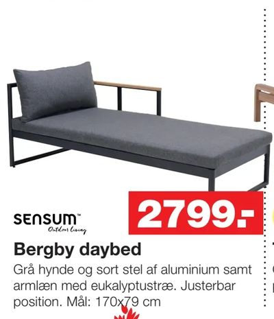 Bergby daybed