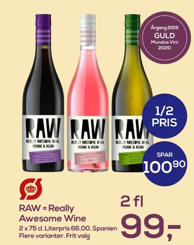 RAW = Really Awesome Wine