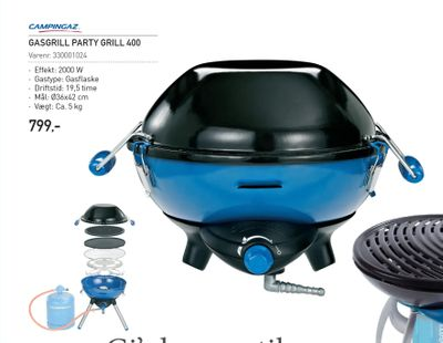 Gasgrill party grill 400