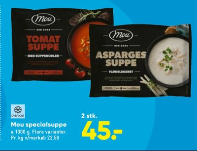 Mou specialsuppe