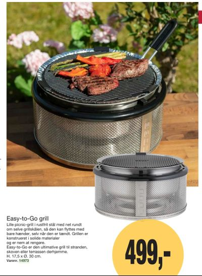 Easy-to-Go grill