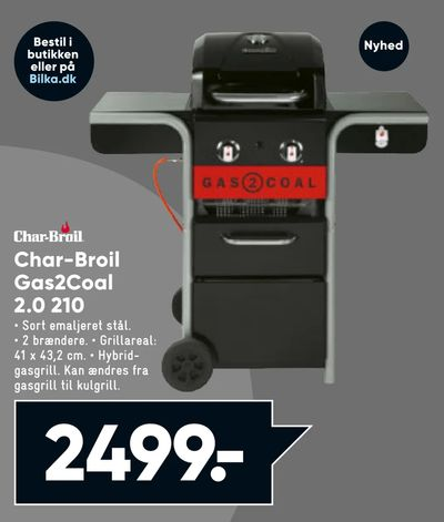 Char-Broil Gas2Coal 2,0 210
