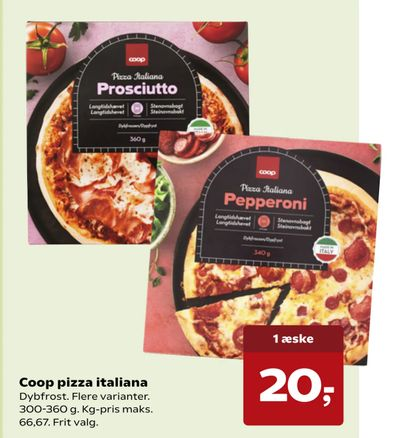 Coop pizza italiana