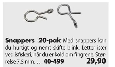 Snappers 20-pak