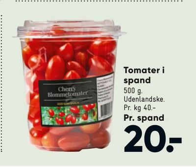 Tomater i spand