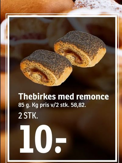 Thebirkes med remonce