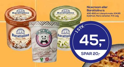 Nicecream eller Barattolino is