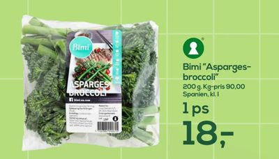 "Bimi ""Asparges broccoli"""
