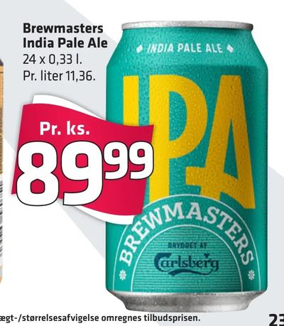 Brewmasters India Pale Ale