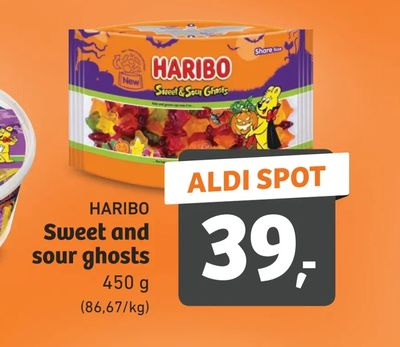 Sweet and sour ghosts