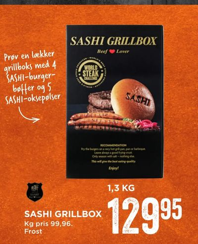 Sashi grillbox