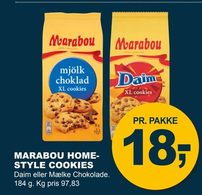 Marabou home- style cookies