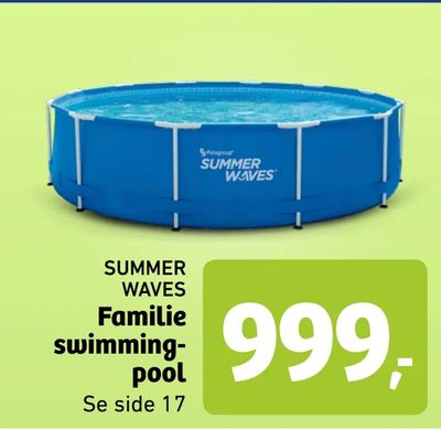 Familie swimming pool