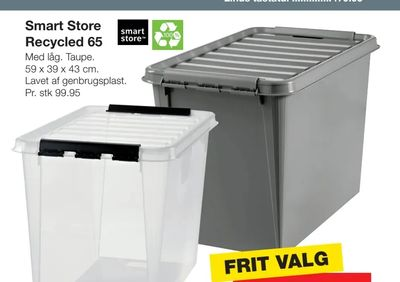 Smart store recycled 65