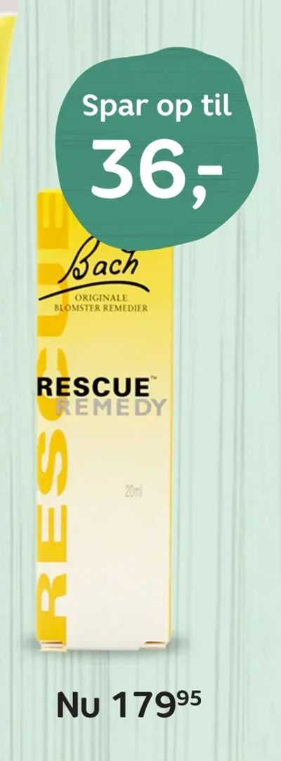 Rescue Remedy Dråber