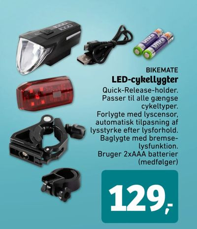LED-cykellygter