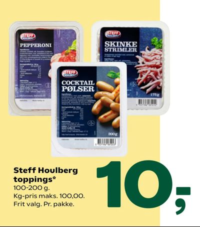 Steff Houlberg toppings